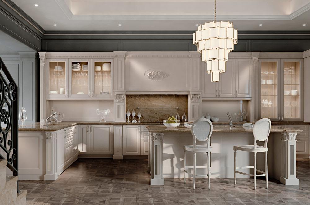 Cucine country chic elegant cucina shabby chic con stelle e scritte sulle pareti with cucine - Cucine country chic minacciolo ...